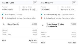 Kode Promo GrabFood & GoFood Area Semarang Purwokerto - Kode Promo Grab Food Purwokerto
