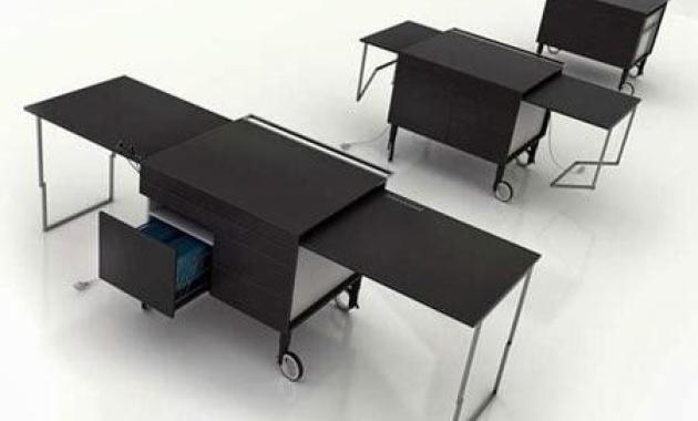Mengintip Deretan Meja Kantor dengan Desain yang Unik (Part 2) - Meja The Kkanapetko