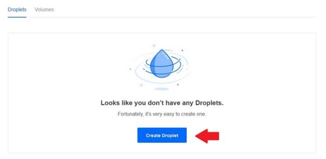 Membuat Droplet di DigitalOcean