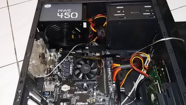 PC Rakitan AMD A8-9600 3.4GHz