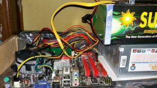PC Rakitan Intel Core2Duo Tanpa Casing