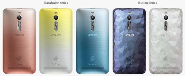 Pilihan Warna ASUS Zenfone 2