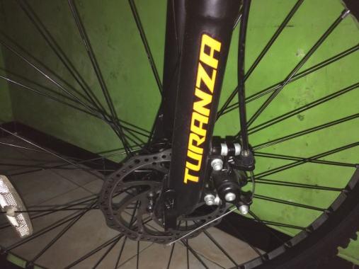 Ulasan Sepeda Pacific Turanza 2905 - Rem Cakram Depan