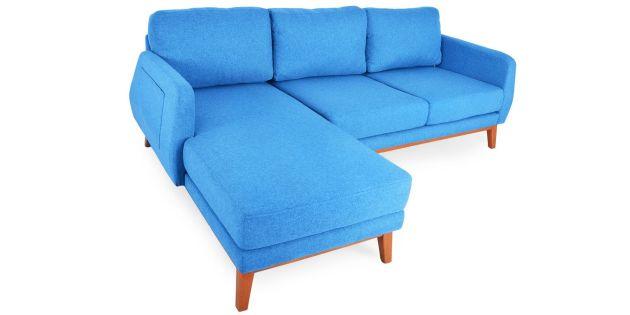 Harga Set Meja Kursi Ruang Tamu Model Minimalis Modern 2020 - Set Kursi L Sofa Mewah Warna Biru