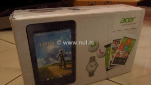 Tablet Android Acer Iconia Tab 7
