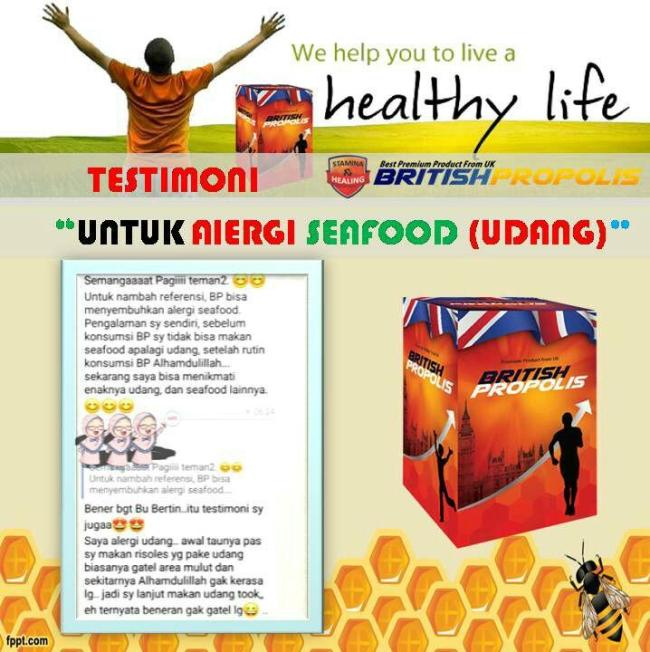 Manfaat dan Testimoni British Propolis - Testimoni Penyakit Alergi