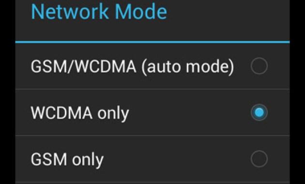Tips Mengaktifkan Jaringan 3G atau WCDMA Lenovo A316i
