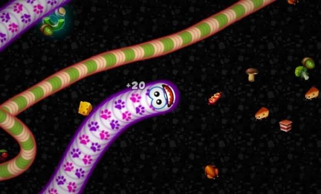 Biar Gak Bosan di Rumah Aja, Yuk Coba 7 Game Android Seru Ini! - Worms Zone