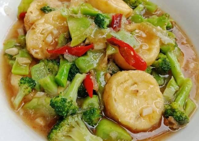 brokoli tofu