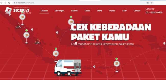Lacak Paket Lebih Mudah dengan 7 Cara Cek Resi SiCepat Ini, Offline dan Online - cek resi sicepat website resmi