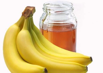 Cara Memutihkan Kulit Wajah Menggunakan Bahan Dapur - madu pisang