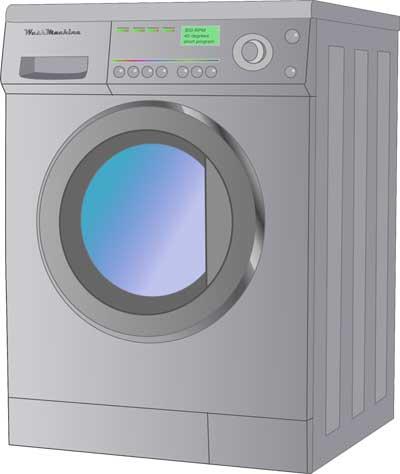 Tips Meringankan Beban Suami - mesin cuci