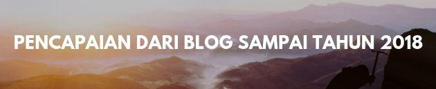 pencapaian dari blog