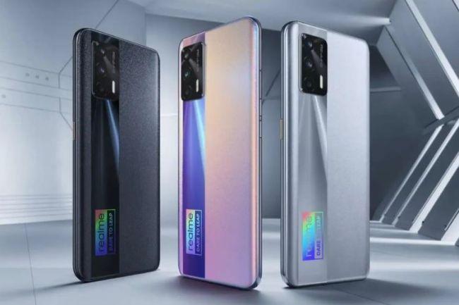4 HP Realme Terbaik Dengan Spesifikasi Tertinggi Juni 2021 - realme gt 5g