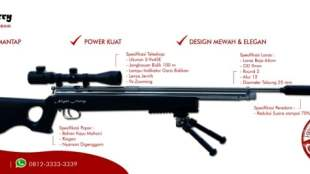 Senapan Angin Terbaru Keren Terkuat - senapan angin goppul