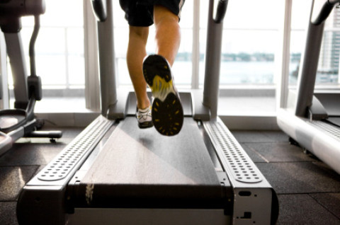 Tips Langsing Dengan Fitness - treadmill