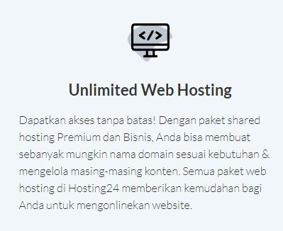 Review Web Hosting Indonesia Terbaru - Hosting24.com - unlimited hosting24