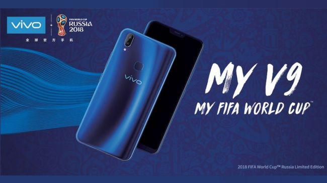 Vivo V9 Smartphone Resminya Piala Dunia Rusia 2018 - vivo world cup