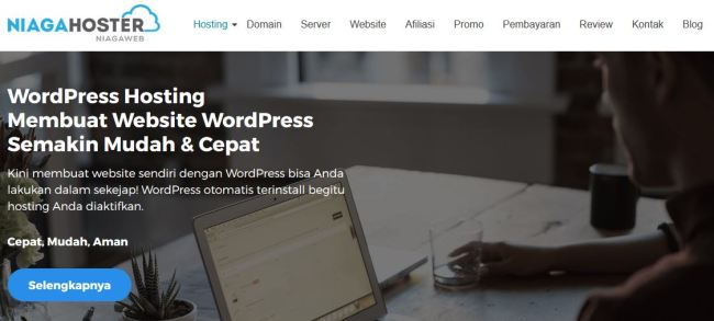 WordPress Hosting - NiagaHoster