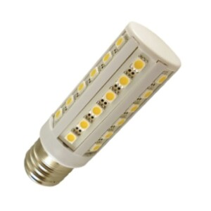 E27 Led lamp 12 en 24 Volt Warm wit