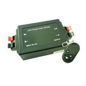 LED Dimmer 12 Volt of 24 Volt met afstandsbediening