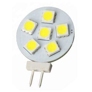 G4 GU4 6 smd rond led lamp multie voltage 12V-18V