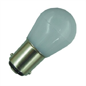 BAY15D Melkglas Lamp 12V en 24V Multi-voltage boot verlichting