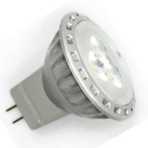 MR11 / GU4 Led Spot 3 SMD Warm wit-1205