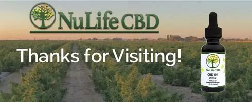 Nulife CBD Oil thank you