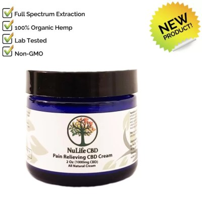 2oz 1000mg CBD pain cream