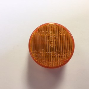 "2"" Round Amber LED Light 30250Y"