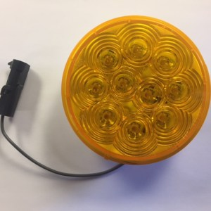 "4"" Amber LED Smart Lamp Curbside, Upper 4344A-1"