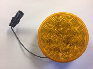 """4"""" Amber LED Smart Lamp Roadside, Upper 4344A-2"""