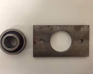 B&B Tarp System Bearing Plate Assembly BB-2600-BPA
