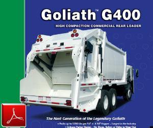 E-Z Pack Goliath G400 Rear-Loader