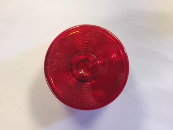 "2 1/2"" Round Red Marker LED Light M163R"