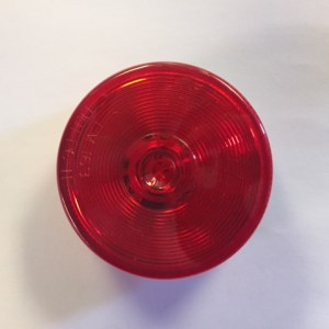"2 1/2"" Round Red Marker LED Light M163R"