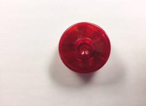 "2"" Round Red LED Marker Light M165R"