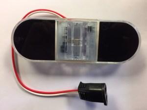 Vertical Oval LED Back-up Light