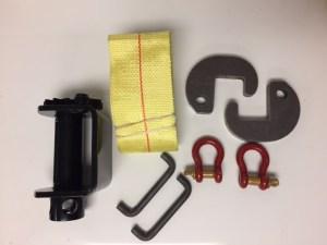 Weld-on Ratchet Strap Kit NL190005