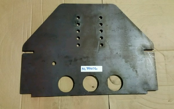 Plate, Hitch Sic NL391076