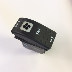 Fan Rocker Switch, 3 Position NL530024