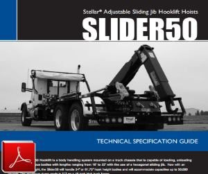 STELLAR Slider 50 Hook Lift Hoist