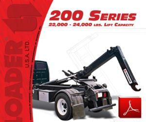 SwapLoader 200 Series Hoists