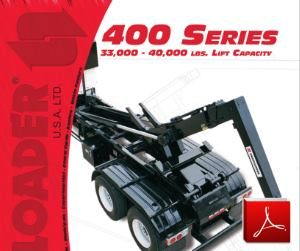 SwapLoader 400 Series Hoists