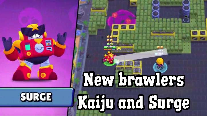 Download Null's Brawl 28.171. New brawler - Surge