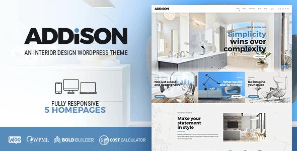 Addison 1.2.7 – Architecture & Interior Design Theme