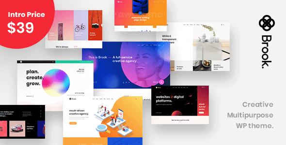 Brook 2.0.1 – Creative Multipurpose WordPress Theme