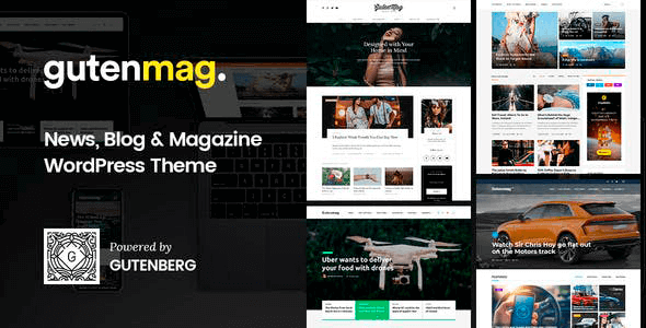 GutenMag 1.1.6 – Gutenberg WordPress Theme for Magazine and Blog