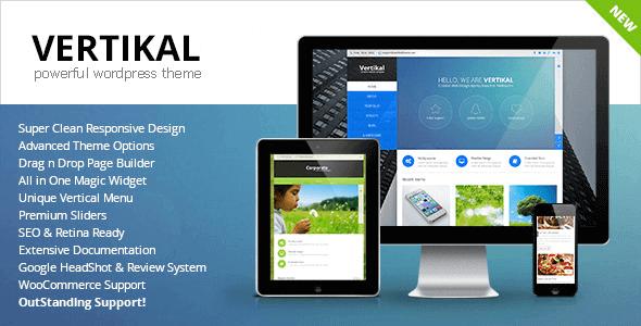 Vertikal 2.0 – Responsive WordPress Theme